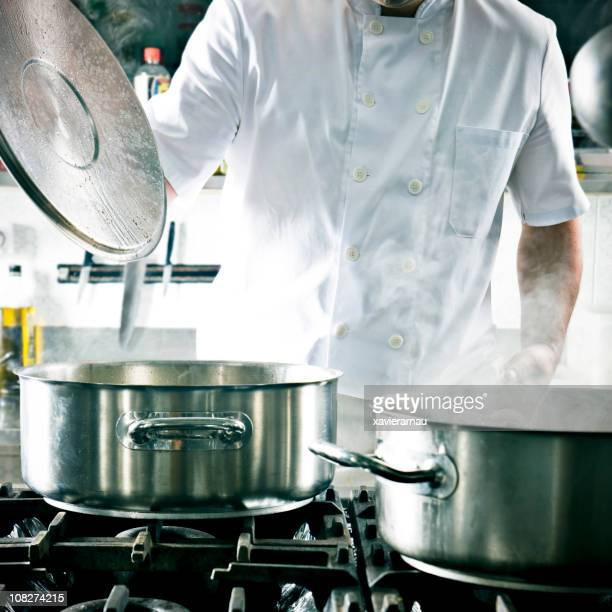 Restaurant Cook in Kitchen