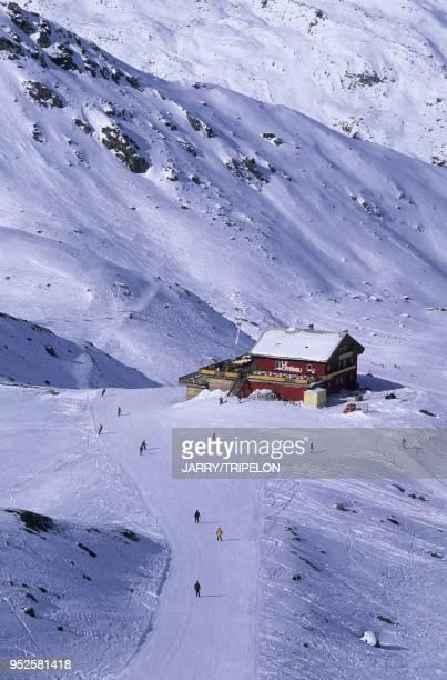 restaurant d altitude Le Caribou Val Thorens Domaine skiable des Trois Vallees Vallee des Belleville departement Savoie region RhoneAlpes France Le...