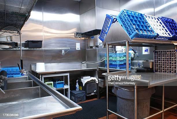 Restaurant Dishwashing Station