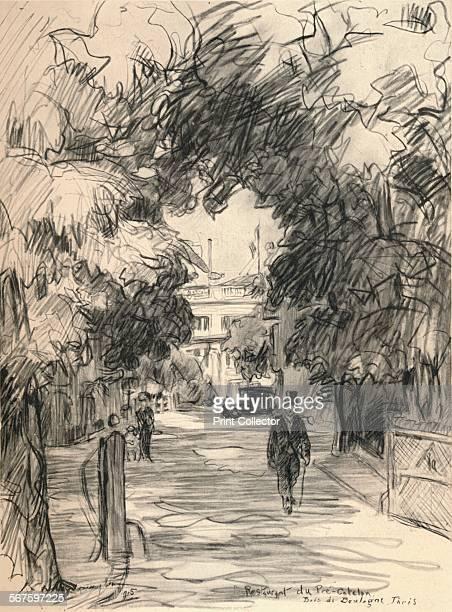 'Restaurant du PréCatela Bois de Boulogne' 1915 From Paris Past and Present [London Offices of the Studio London 1915]