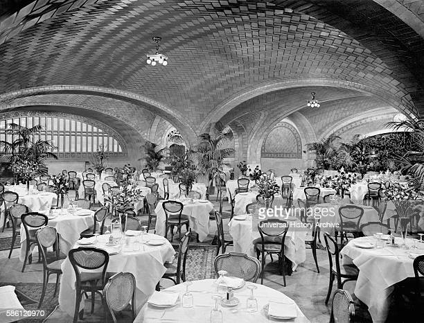Restaurant Grand Central Terminal New York City USA circa 1915