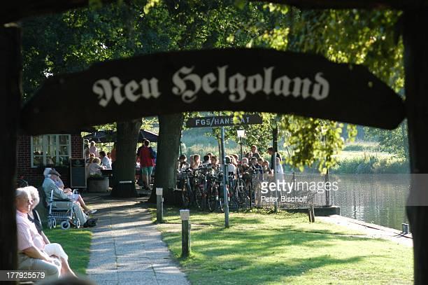"""Restaurant """"Hammehütte"""", Neu Helgoland, Worpswede, , Teufelsmoor, Niedersachsen, Deutschland, Europa, Künstlerkolonie, Künstlerdorf, Touristen,..."""