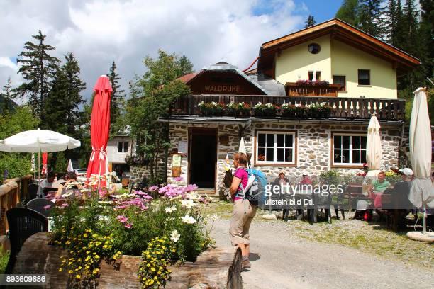 Restaurant Huette Waldruhe Sulden ist ein Bergdorf mit etwa 400 Einwohnern im Suldental im westlichen Teil Südtirols Es gehoert zur Gemeinde Stilfs...