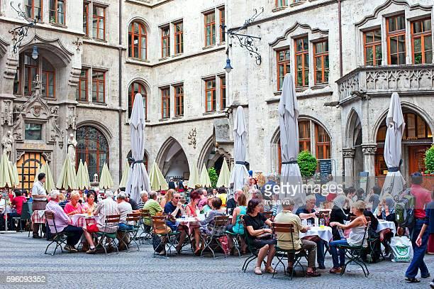 Restaurant in New Town Hall Munich