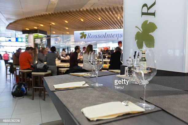 Restaurant in the Leonardo da Vinci International Airport