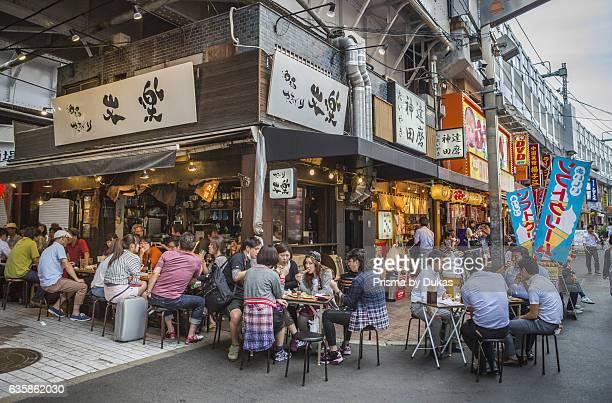 restaurant in Ueno District in Tokyo City