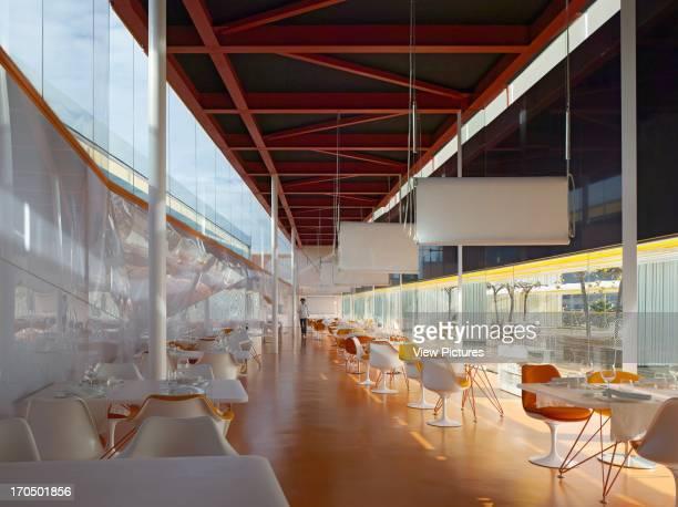 Restaurant interior El Batel Conference Centre Selgascano Architects Cartagena Spain Restaurant interior