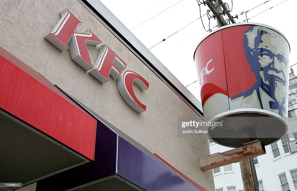 A KFC restaurant is shown October 30, 2006 in San Francisco, California. In New York today, KFC announced that it will phase out use of artificial trans fats at all its American restaurants to healthier linolenic soybean oil by April 2007. New York is weighing a ban on the artery-clogging oils in all city restaurants.