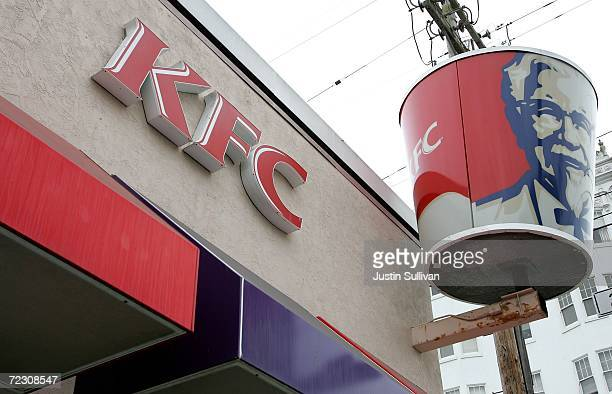 KFC restaurant is shown October 30 2006 in San Francisco California In New York today KFC announced that it will phase out use of artificial trans...