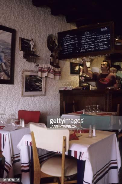 restaurant Kaiatxu Ciboure Pays Basque departement PyreneesAtlantique region Aquitaine France Kaiatxu restaurant Ciboure Pays Basque...