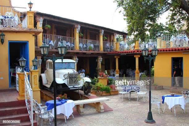Restaurant La Nueva Era Trinidad ist eine Stadt in der Provinz Sancti Spíritus / Hotel Club Amigo Costa Sur Kuba Cuba Urlaub Republica de Cuba...