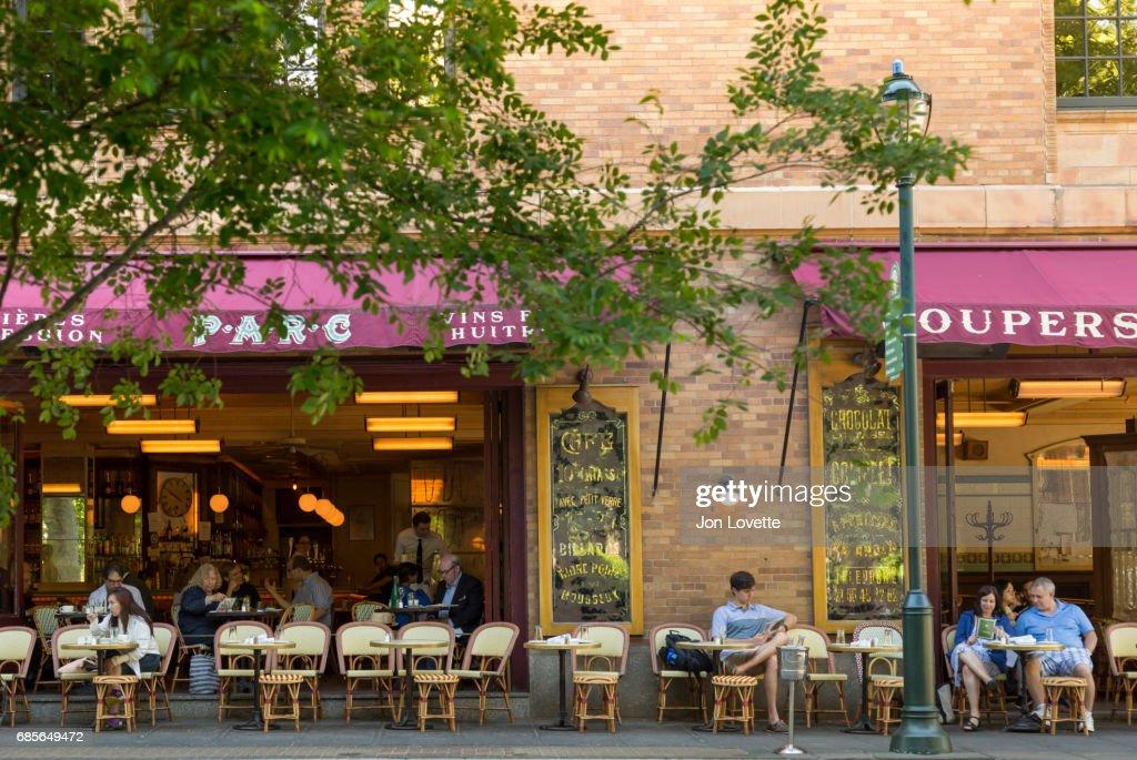 Restaurant On Rittenhouse Square Stock Photo