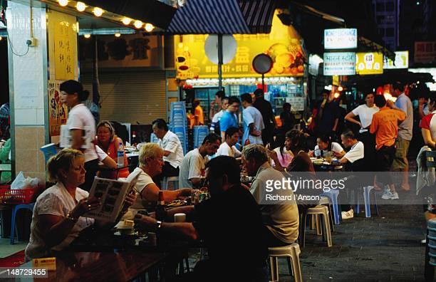Restaurant on Temple Street, Yau Ma Tei.