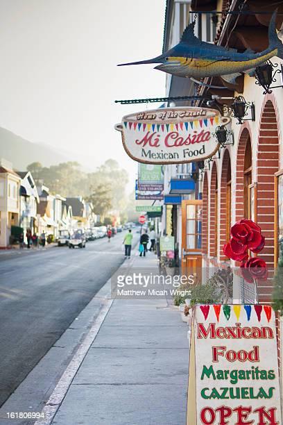 A restaurant on the sleepy streets of Avalon