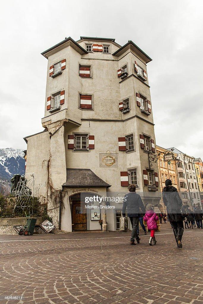 Restaurant Ottoburg on Herzog-Friedrich-Strasse : Stockfoto