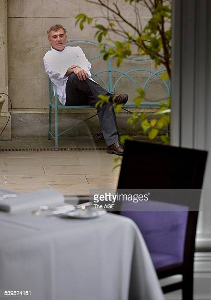 Restaurant owner, Jacques Reymond at his newly renovated restaurant in Windsor, 1 August 2002. THE AGE Picture by EDDIE JIM