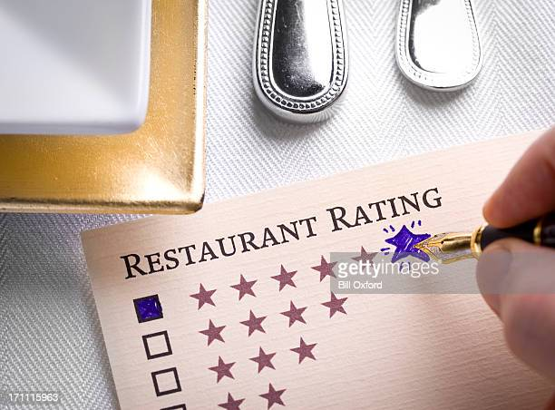restaurant rating - rating stock pictures, royalty-free photos & images