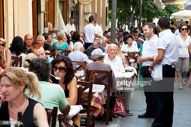 Restaurant street in Monastiraki known for Souvlaki and kebabs There are a lot of good souvlaki shops in Athens especially on Mitropoleos street also...