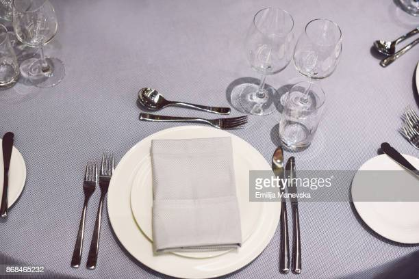 restaurant table setting - arranging stock pictures, royalty-free photos & images