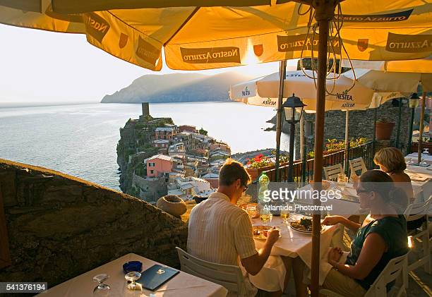 Restaurant Terrace in Vernazza