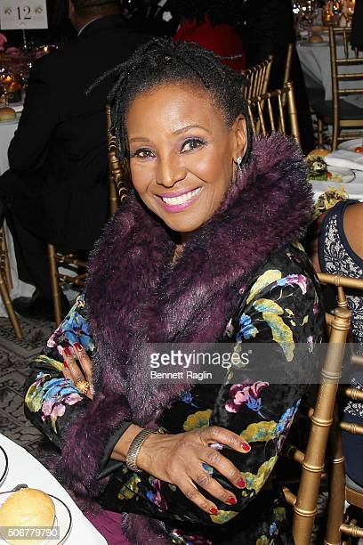 Restauranteur B Smith attends For the Love Of Our Children Gala hosted by the National CARES Mentoring Movement on January 25 2016 in New York City