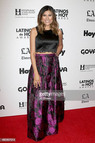 Restauranteur Bricia Lopez attends The Los Angeles Times and Hoy 2015 Latinos de Hoy Awards at Dolby Theatre on October 11 2015 in Hollywood...