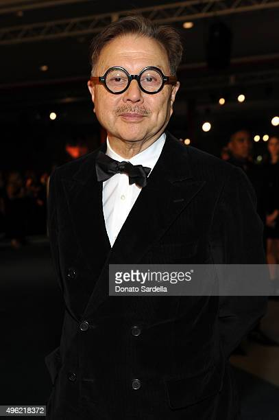 Restauranteur Michael Chow attends LACMA 2015 ArtFilm Gala Honoring James Turrell and Alejandro G Iñárritu Presented by Gucci at LACMA on November 7...