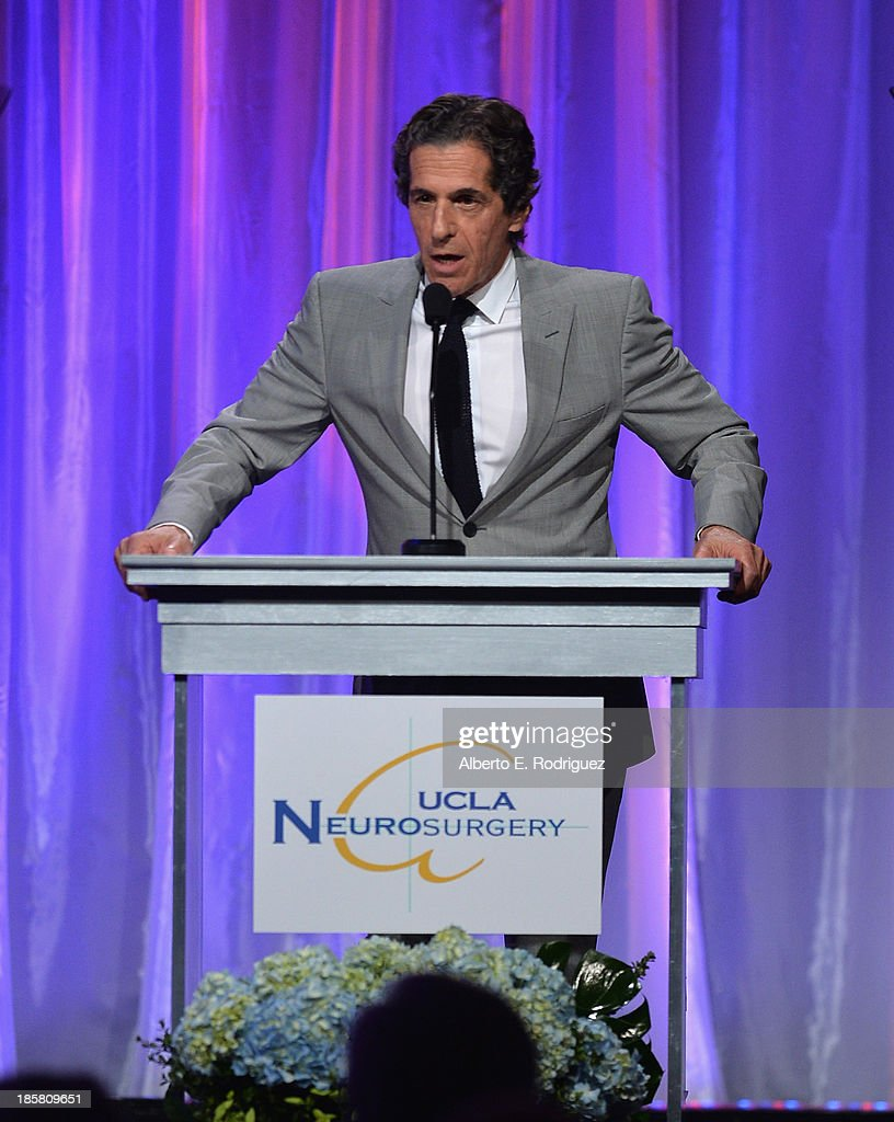 Restauranteur Peter Morton attends the 2013 UCLA Neurosurgery Visionary Ball at the Beverly Wilshire Four Seasons Hotel on October 24, 2013 in Beverly Hills, California.
