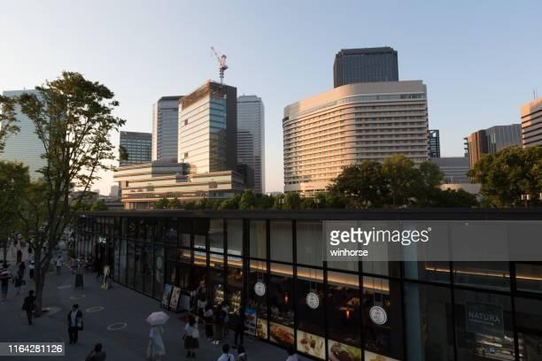 大阪ビジネスパーク周辺の飲食店 - 大阪ビジネスパーク ストックフォトと画像