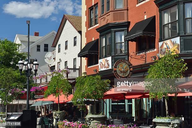レストラン「フェデラルヒルにプロヴィデンス - ロードアイランド州プロビデンス ストックフォトと画像