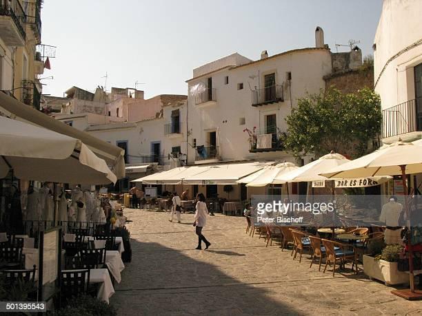 Restaurants, Ibiza-Stadt, Insel Ibiza, Balearen, Spanien, Europa, Reise, AS, DIG; P.-Nr.: 663/2010, ; Foto: P.Bischoff; Jegliche Foto-Nutzung nur...