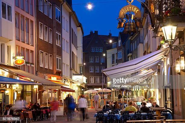 Restaurants in Old Town Dusseldorf