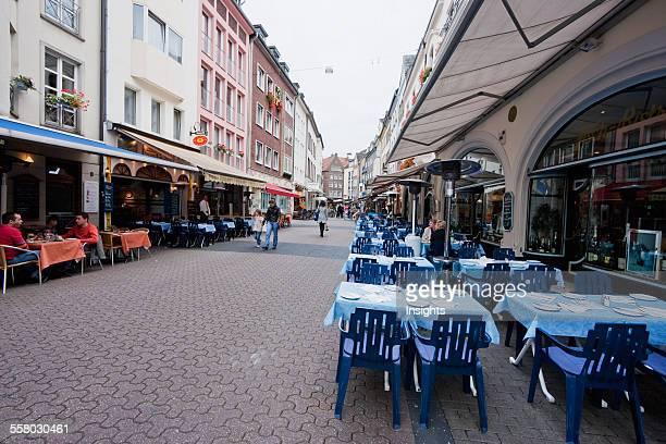 Restaurants In The Altstadt Dusseldorf North RhineWestphalia Germany