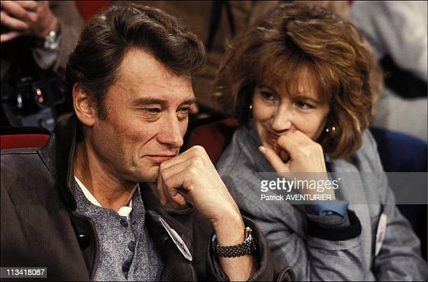 Restaurants Of The Heart The Evening Of Television On Soutienemission Tf 1 On January 26th 1986 In ParisFrance