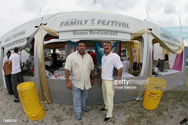 Restaurants volunteer their time during the 2007 Family Festival on April 15 2007 at Watson Island in Miami Florida NOTE TO USER User expressly...