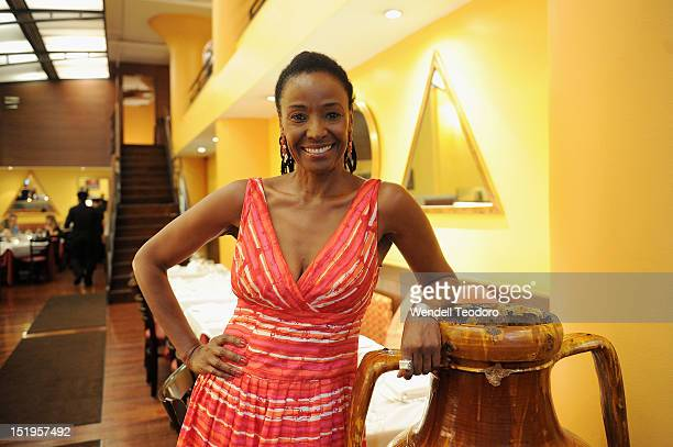 Restaurateur and TV Host B Smith attends the Cougartini unveiling at B Smith's Restaurant on September 12 2012 in New York City