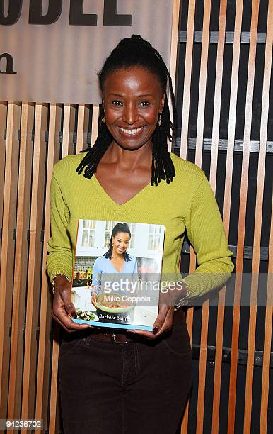 Restaurateur and TV personality B Smith promotes new southernstyle cookbook at Barnes Noble 86th Lexington on December 9 2009 in New York City
