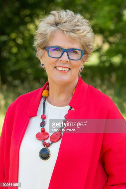Restaurateur caterer tv presenter and broadcaster Prue Leith is photographed on July 7 2017 in London England