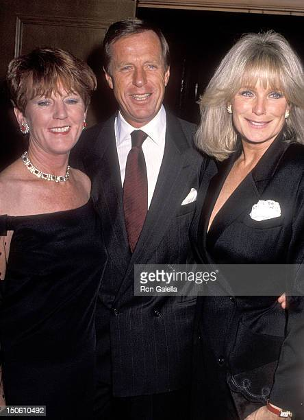 Restaurateur Jimmy Murphy and wife and actress Linda Evans attend the Reebok's Cocktail Reception to KickOff the Monte Carlo Royal Tennis Grand Prix...