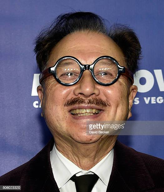 Restaurateur Michael Chow arrives at the after party for Jennifer Lopez's residency JENNIFER LOPEZ ALL I HAVE and the grand opening of Mr Chow at...