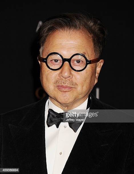 Restaurateur Michael Chow attends the 2014 LACMA Art Film Gala honoring Barbara Kruger and Quentin Tarantino presented by Gucci at LACMA on November...