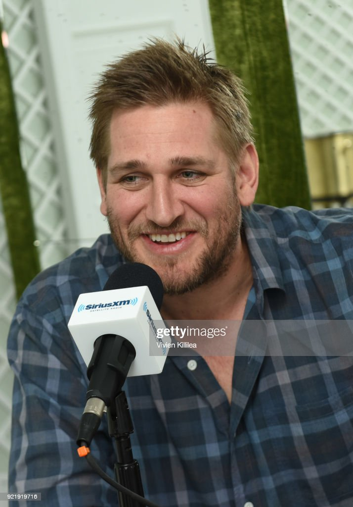 Restaurateur Will Guidara hosts chef Curtis Stone on 'First Date' exclusively on SiriusXM at Nomad Los Angeles on February 16, 2018 in Los Angeles, California.