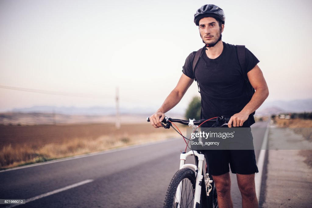 Resting after a long journey : Stock Photo