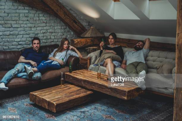 resting from partying - morning after party stock pictures, royalty-free photos & images