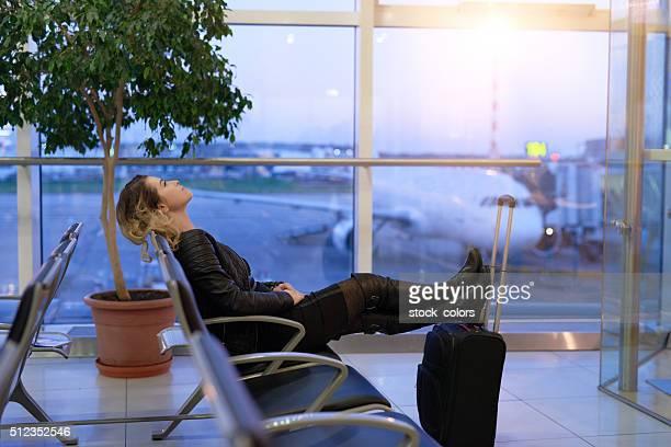 Reposo en el aeropuerto