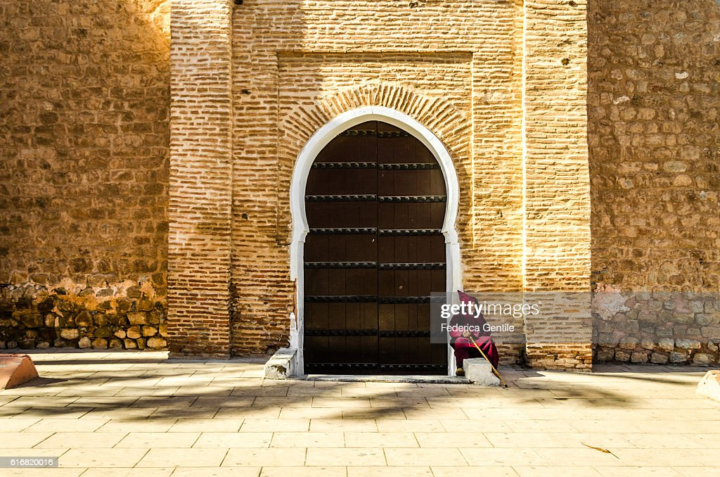 Resting in Marrakesh : Stock Photo
