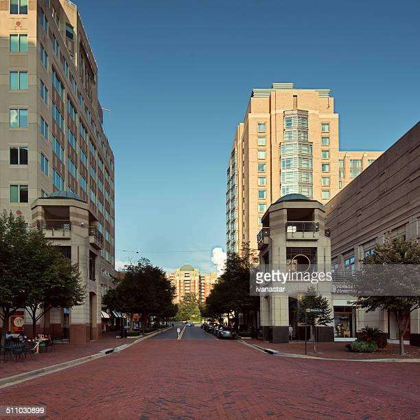 reston town center - fairfax county virginia stock photos and pictures