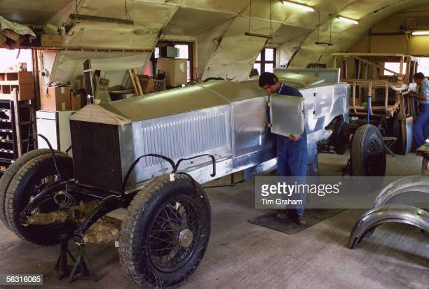 Restoration of a rare vintage Rolls Royce Gloucestershire England