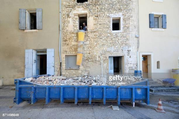 Restoration of Old Stone Village House in Venasque Provence France