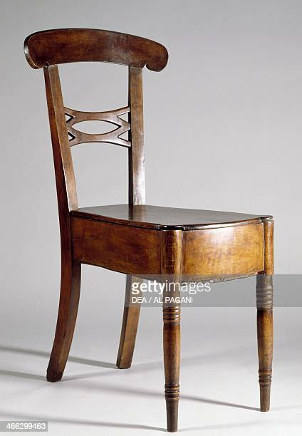 Restoration style bidet chair ca 1820 France 19th century